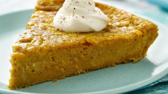 Самый простой рецепт: тыквенный пирог