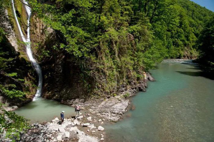 Ореховские водопады в Большом Сочи. Описание, как добраться