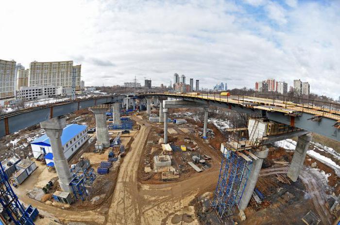 Северо-Западная хорда: строительство, схема