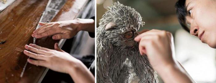 Художница из Японии создает удивительных животных из обычных газет