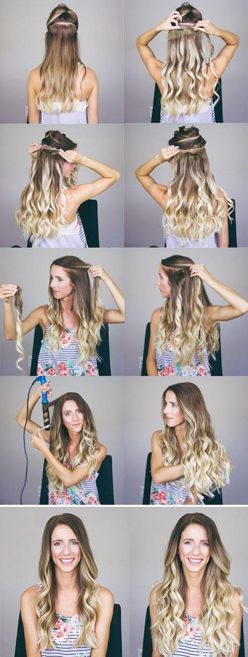 Как сделать объём на волосах в домашних условиях феном