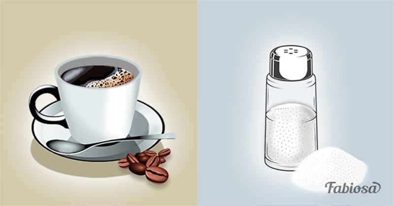 Вот зачем добавлять в кофе соль. Так делают истинные ценители этого напитка!