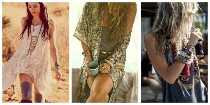 Стиль бохо-шик в одежде и украшениях: описание и фото