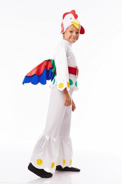 Как сделать костюм петуха своими руками?