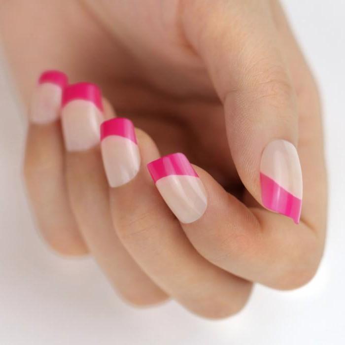 Розовый френч: описание, мастер-класс