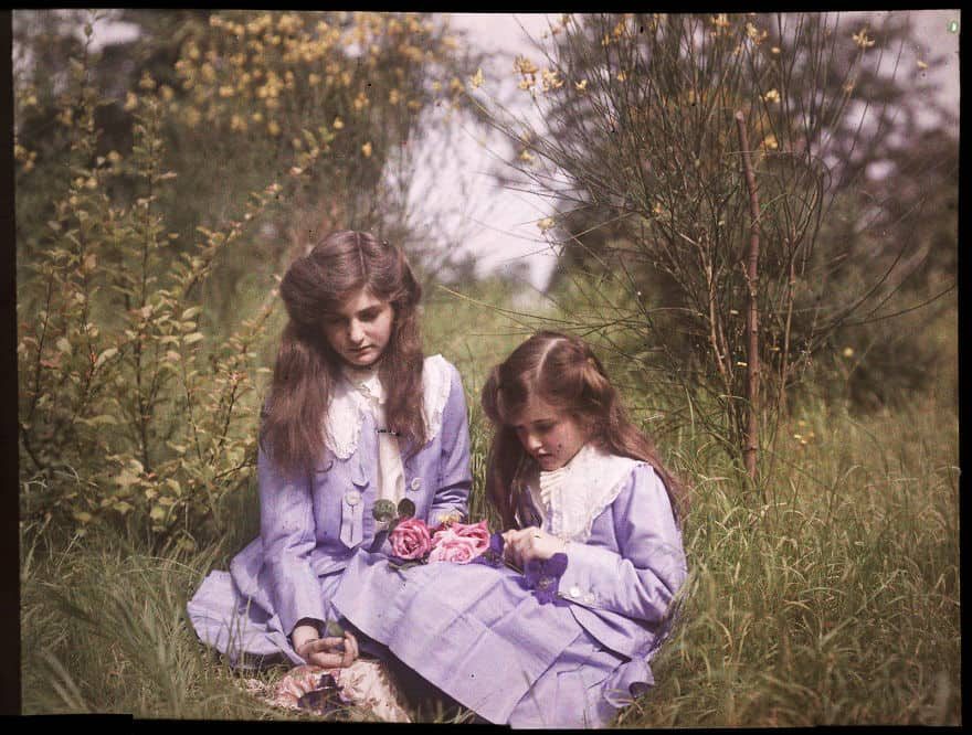 20 цветных фотографий, которые покажут, как выглядел мир 100 лет назад