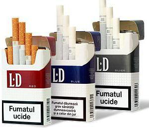 Сигареты  ЛД : бренд, ассортиментный ряд