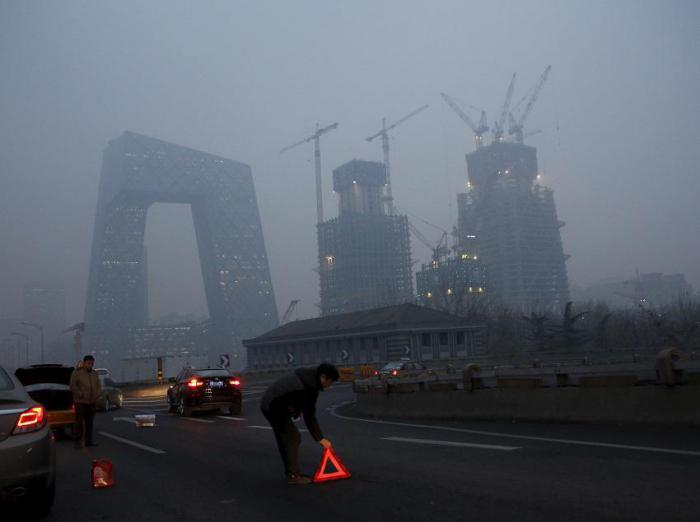 В Китае планируют создать вертикальные сады, чтобы решить проблему с городским смогом