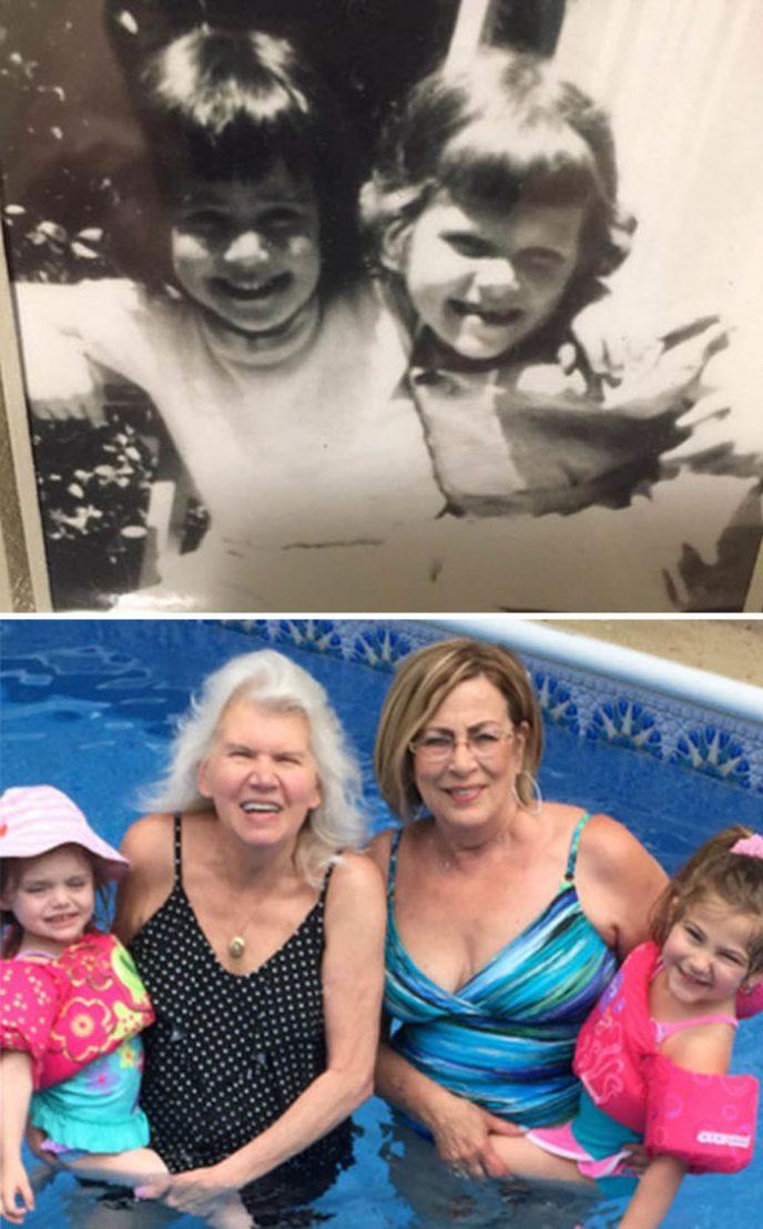 Тогда и сейчас: Как меняются люди спустя долгие годы дружбы
