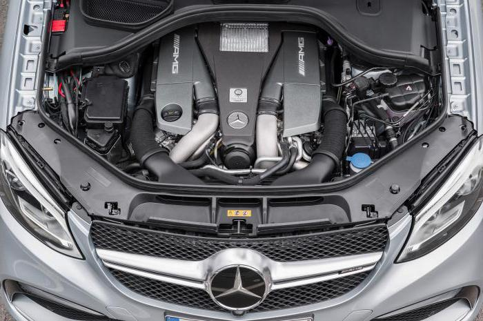 Mercedes GLE Coupe: технические характеристики немецкого внедорожного купе