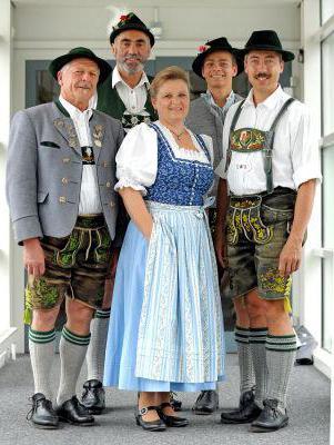 Женские костюмы из германии