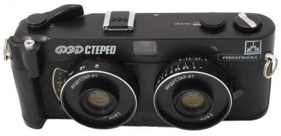 Фотоаппарат ФЭД - символ советской фотоиндустрии