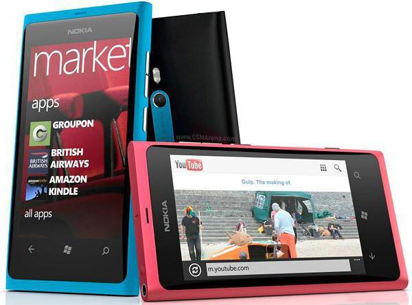 Телефон Nokia Lumia 800: характеристика и отзывы