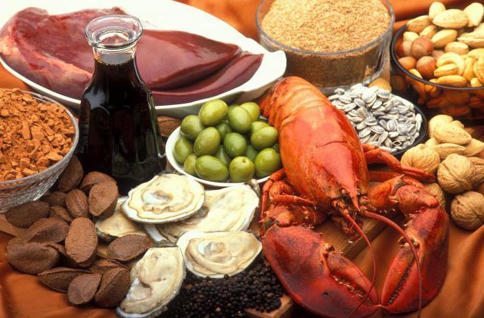В каких продуктах содержится медь больше всего: список, таблица и особенности