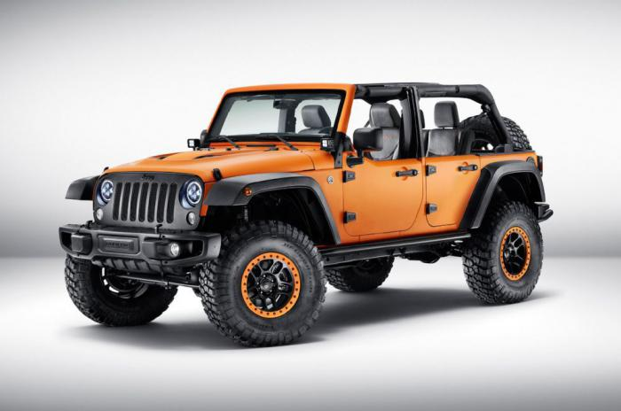 Jeep Cherokee, Wrangler и Renegade с уникальным тюнингом от Mopar дебютировали во Франкфурте