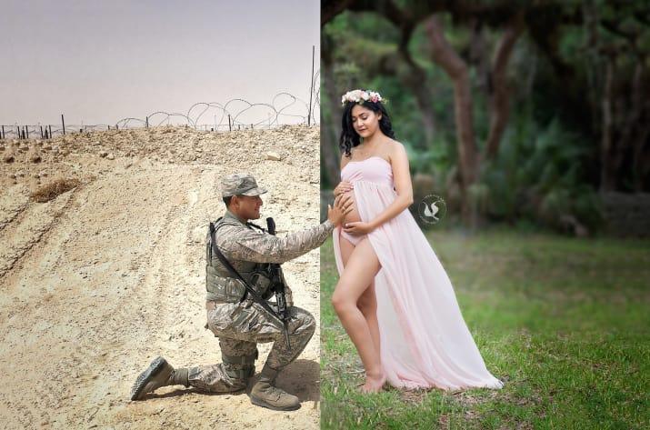 Фото этой будущей мамы растрогало людей со всего мира, включая ее мужа