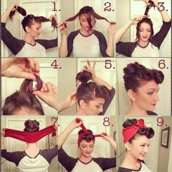 Поэтапная прическа - учимся делать. Набор инструментов для парикмахера