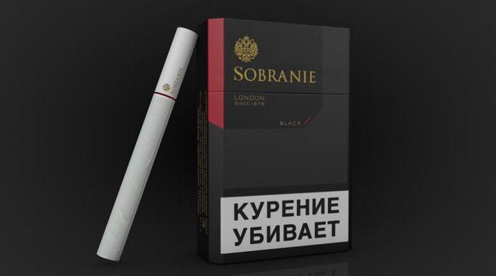 Сигареты Sobranie: доступная цена, высокое качество