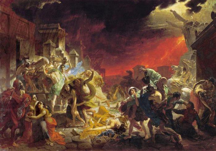 Карл Брюллов: картины и акварели