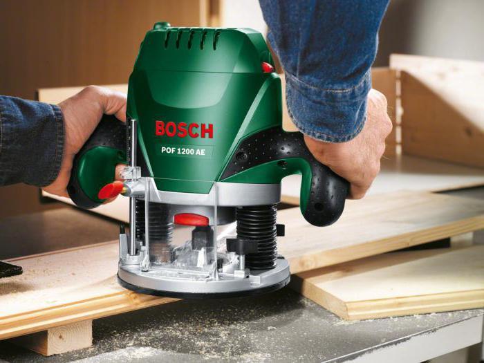 Фрезер Bosch pof 1200 AE: обзор, описание, характеристики и отзывы