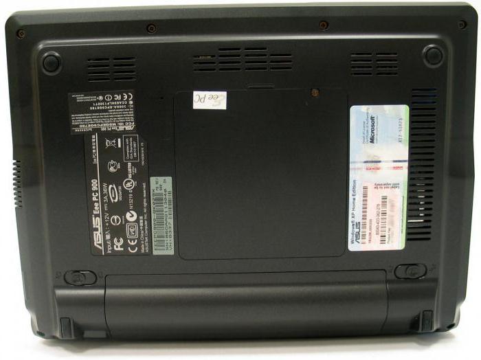 Нетбук Asus Eee PC 900: описание, характеристики, отзывы