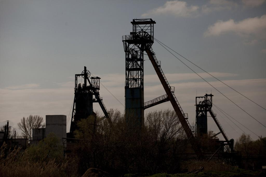 Полезные ископаемые Донецкой области и их характеристики
