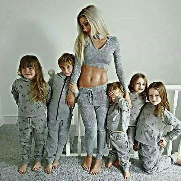Эта девушка — мать пятерых детей. И она утверждает, что нет оправданий лишнему весу после беременности.
