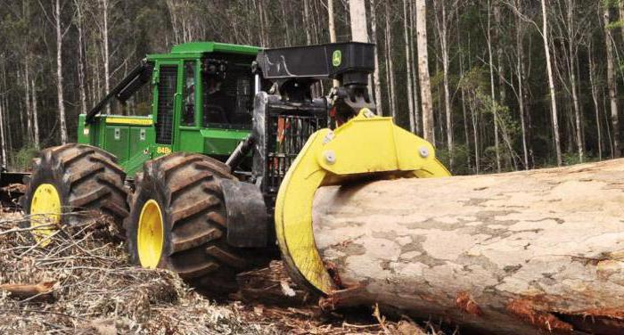 Трактор трелевочный: виды, технические характеристики, назначение