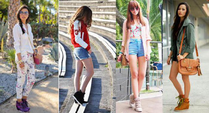 Модная обувь: сникерсы. Как и с чем их носят?