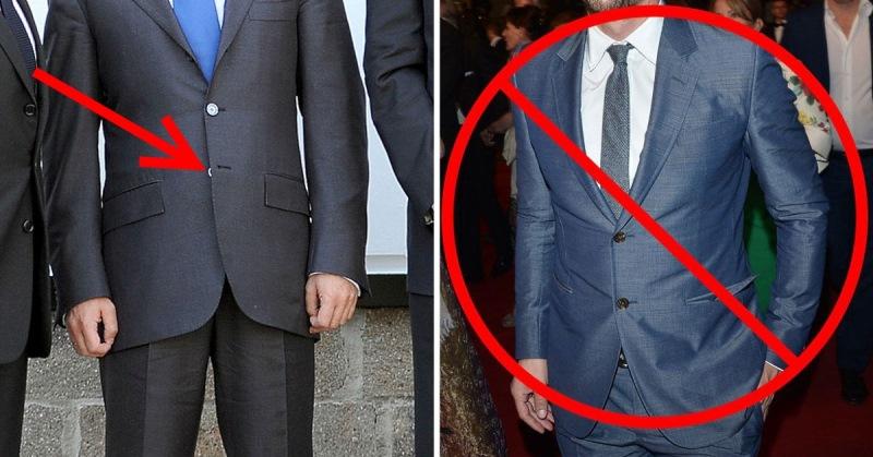 Почему пиджак на одну пуговицу застегивают пиджак