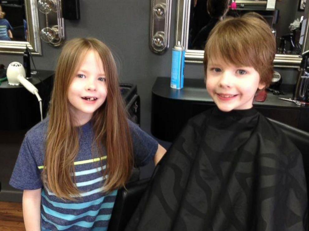 Эта мать и ее 6 сыновей годами отращивают волосы. Вот для чего они это делают