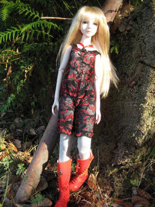Шарнирные BJD-куклы: размеры, фото