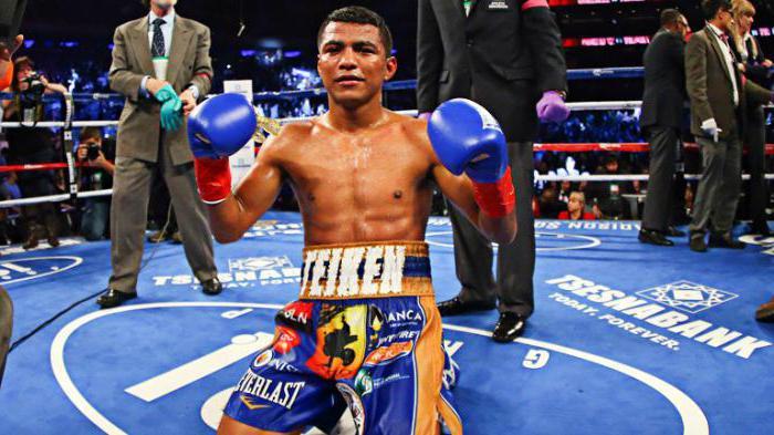 Роман Гонсалес - боксер-профессионал из Никарагуа
