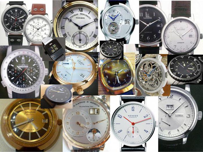 Самые известные бренды часов