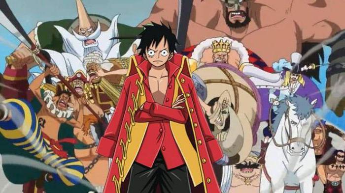 Персонажи «Ван Писа»: главные личности пиратского аниме