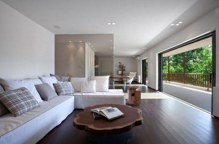 Межкомнатные стеклянные перегородки в квартире: фото
