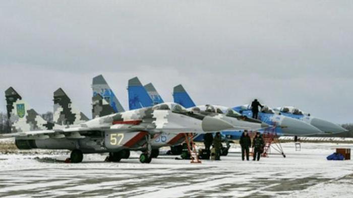 ВВС Украины: состав, численность, командующий