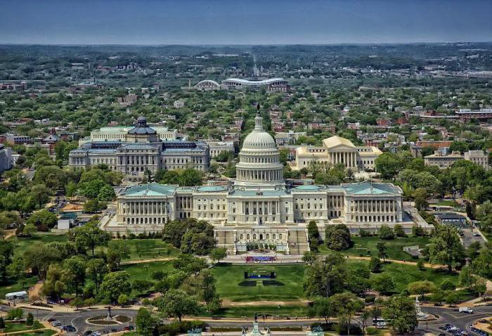 Колумбия округ (Вашингтон): достопримечательности