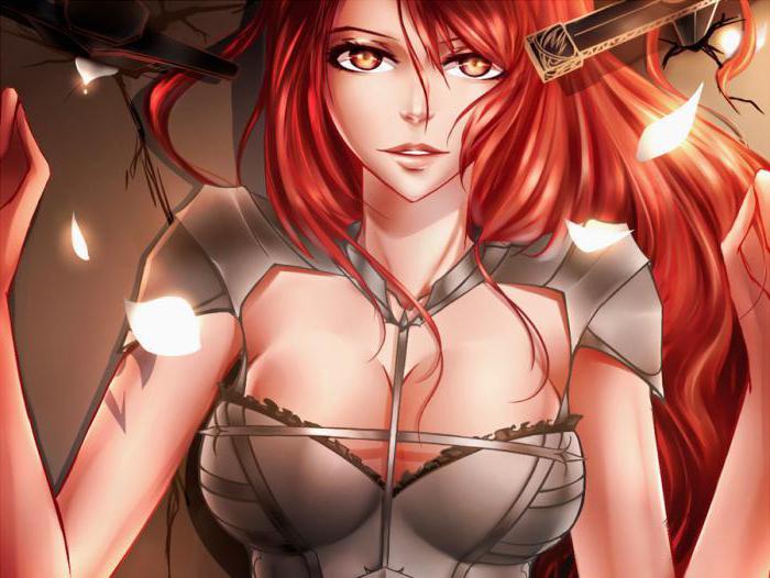 Эльза Скарлетт - известный персонаж из аниме