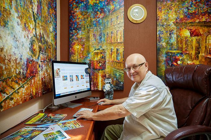 Леонид Афремов: картины меняющего мира