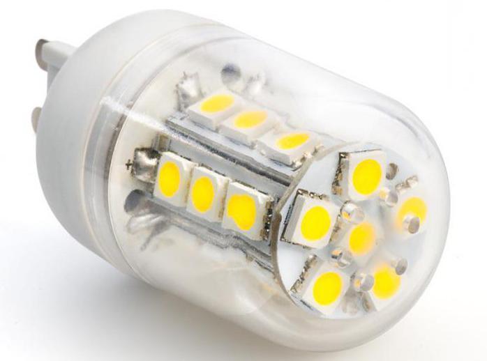 G9 (цоколь): размеры. Лампа с цоколем G9