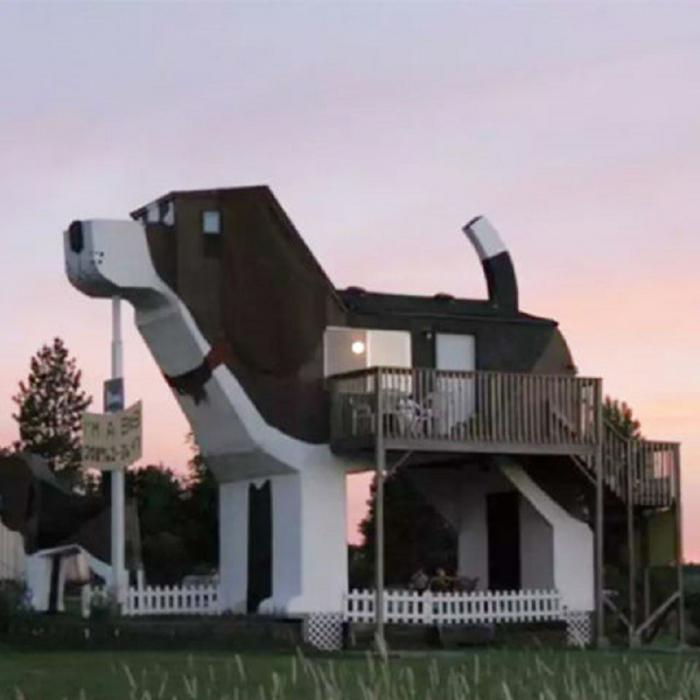 Самые удивительные жилища мира, которые можно арендовать на время отпуска: 21 фото