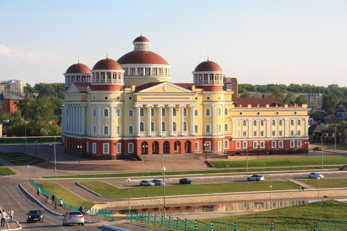 Город Саранск: население, история, промышленность, достопримечательности