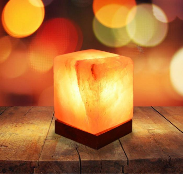 В чем секрет популярности ламп из гималайской соли?