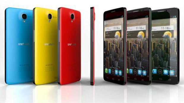 Смартфон Alcatel One Touch Idol X: описание, характеристики, отзывы