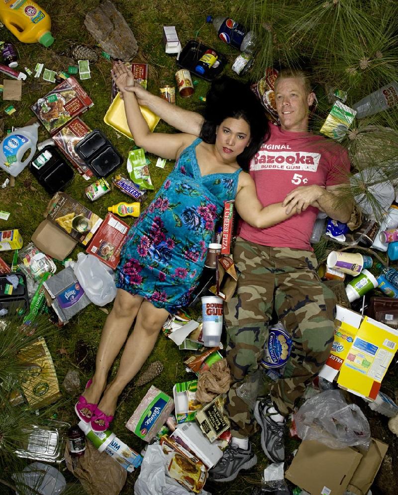 Семь дней мусора. Вот сколько отходов ты способен произвести всего за одну неделю!