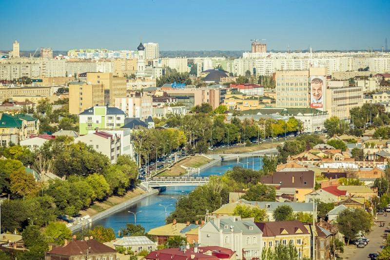 Астрахань - численность населения и география