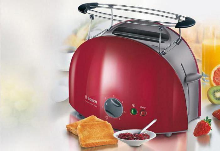 Бош (тостер): модели, инструкция по эксплуатации, отзывы