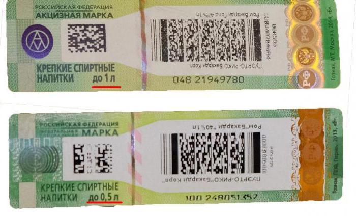 Проверка акцизных марок на алкогольную продукцию