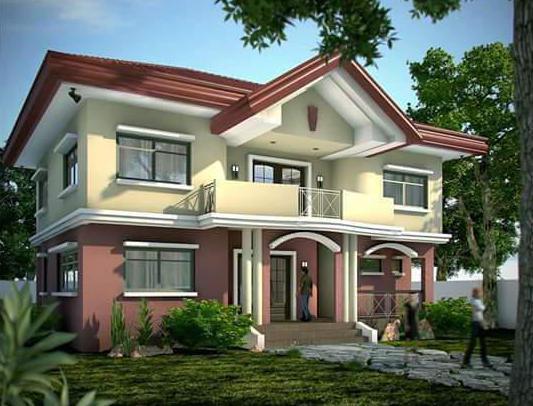 Двухэтажный дом: планировка, варианты, примеры удачных проектов, фото